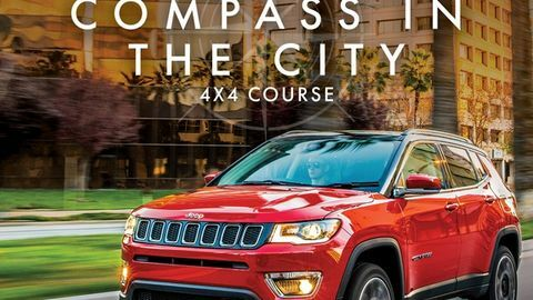 Jeep Compass in the City