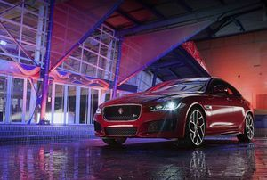 NEW JAGUAR XE MAKES WORLD DEBUT IN LONDON