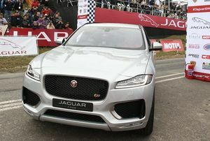 JAGUAR F-PACE DEBUTS IN BREATHTAKING REVEAL