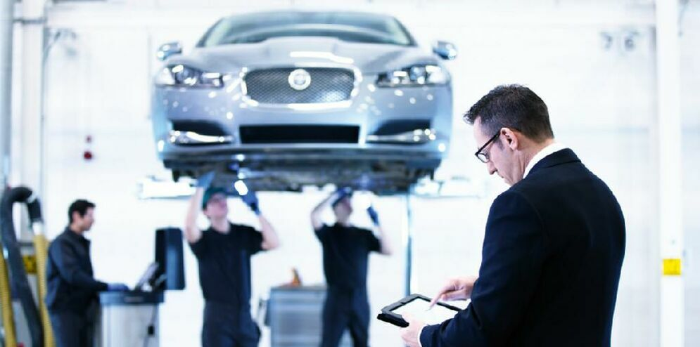RECONDITIONED BY JAGUAR TRAINED TECHNICIANS