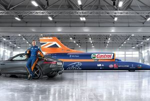 Jaguar Announces Major Partnership With Bloodhound Ssc British World Land Speed Record Team