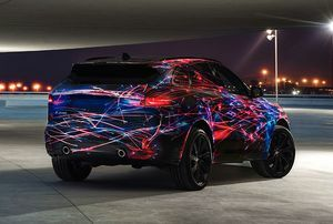 THE ALL-NEW JAGUAR F-PACE LIGHTS UP VIVID SYDNEY