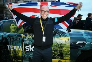 JAGUAR AND TEAM SKY CELEBRATE HISTORIC VICTORY