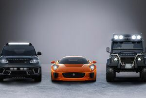JAGUAR AND LAND ROVER ANNOUNCE PARTNERSHIP WITH SPECTRE THE 24TH JAMES BOND ADVENTURE