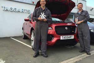 WILLIAM QUEEN - JAGUAR UK TECHNICIAN OF THE YEAR
