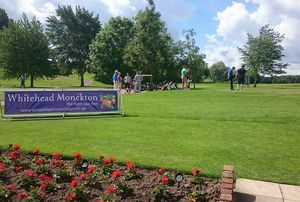 F-PACE GAINS GOLFING REPUTATION AT WHITEHEAD MONCKTON CHARITY GOLF DAY