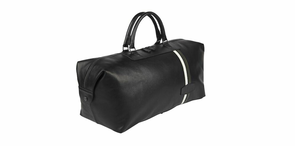 HERITAGE LEATHER WEEKENDER BAG