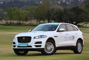 ALL-NEW F-PACE. 2017 WESBANK SOUTH AFRICAN CAR OF THE YEAR FINALIST.