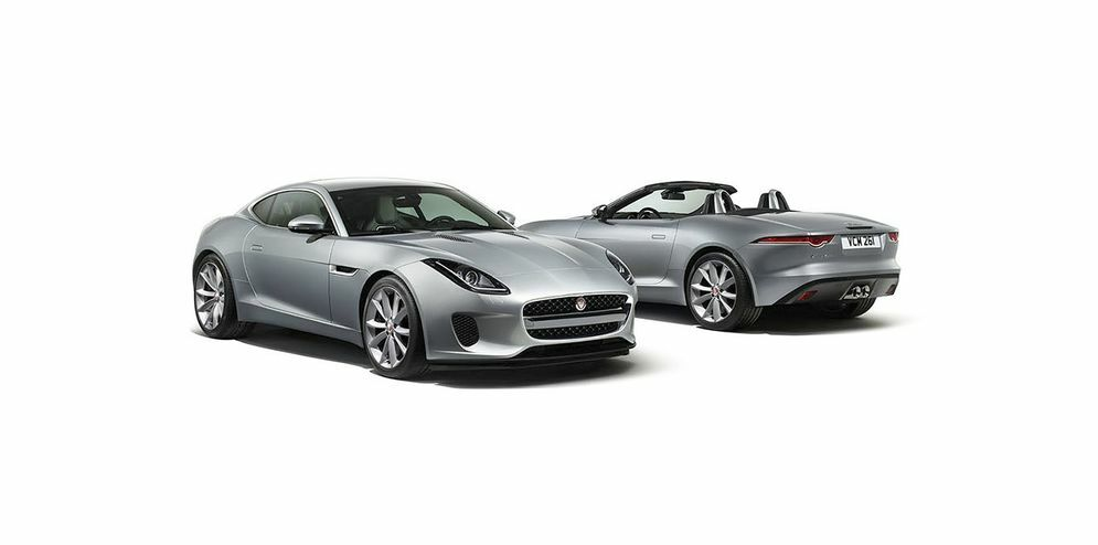 f-type - convertible and coupe