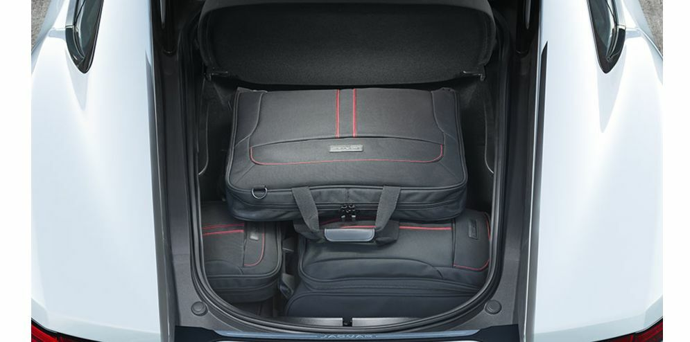 jaguar f type luggage space