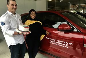 ​JAGUAR LAND ROVER MENLYN DRIVES TUMI MORAKE