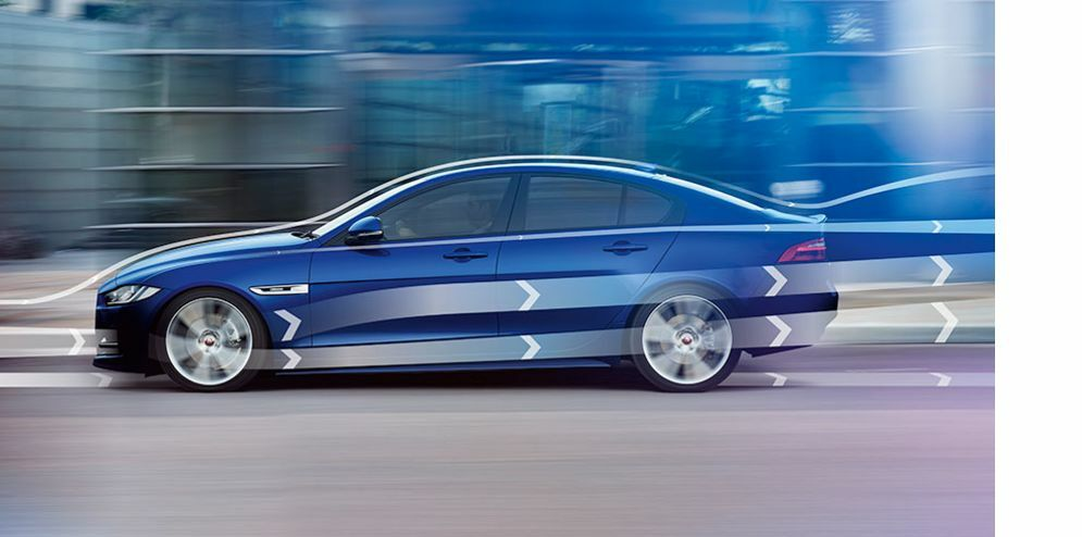 jaguar hong kong XE - ADVANCED AERODYNAMICS