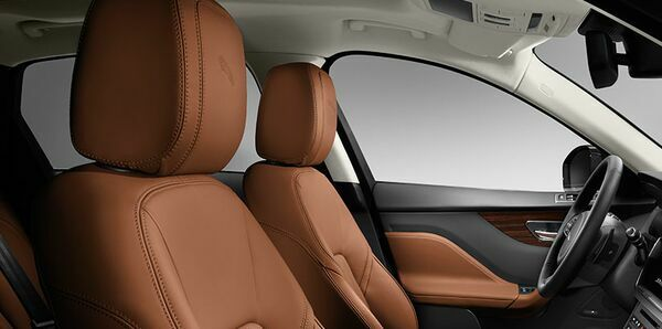jaguar f pace leather seats