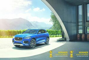 JAGUAR F-PACE 「2017 WORLD CAR OF THE YEAR」 「2017 WORLD CAR DESIGN OF THE YEAR」ダブル受賞