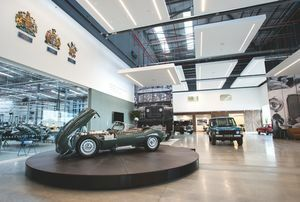 JAGUAR LAND ROVER CLASSIC WORKS OPENS IN UK'S ORIGINAL MOTOR CITY