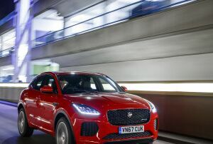 JAGUAR F-PACE AND E-PACE SECURE FIVE-STAR SAFETY RATING