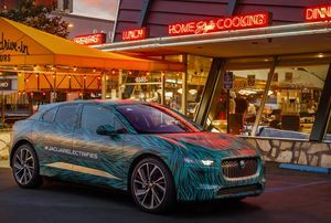 ELECTRIC ROAD TRIP: JAGUAR I-PACE COMPLETES FINAL TESTING IN LOS ANGELES AHEAD OF 2018 REVEAL