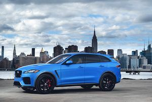 THE JAGUAR F-PACE SVR: SPORTSCAR PERFORMANCE, SUV DESIGN
