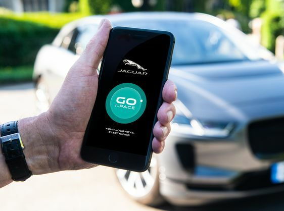 GO I-PACE APP PUTS ELECTRIC JAGUAR IN YOUR POCKET