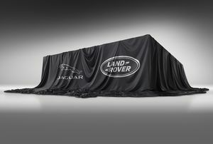 THE NEW JAGUAR LAND ROVER CONCEPT. CONSTRUCTION IS UNDERWAY.