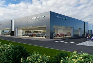 THE NEW JAGUAR LAND ROVER SHOWROOM - A VISION OF THE FUTURE.