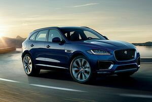 LOCALLY MANUFACTURED MODEL YEAR 2019 JAGUAR F-PACE INGENIUM PETROL LAUNCHED IN INDIA AT ₹ 63.17 LAKH