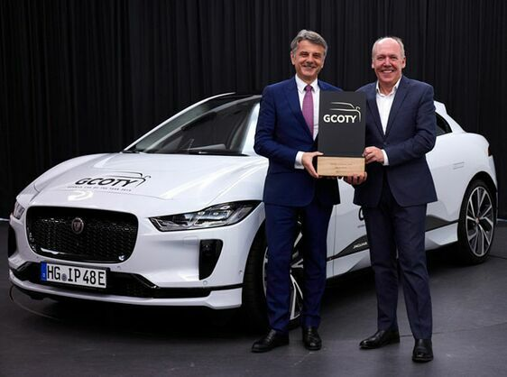 JAGUAR'S ELECTRIC I-PACE IS GERMANY'S CAR OF THE YEAR