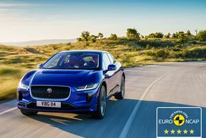 FIVE-STAR EURO NCAP FOR JAGUAR'S ELECTRIC I-PACE