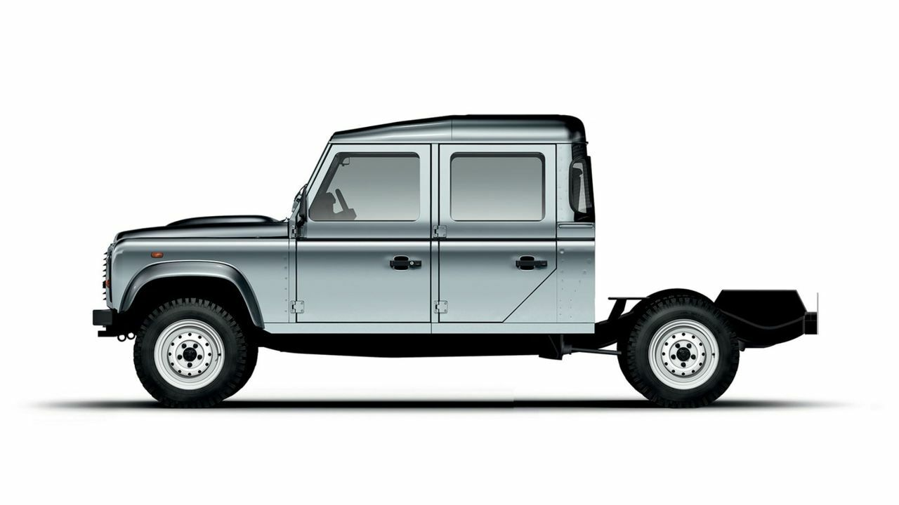 DOUBLE CAB CHASSIS