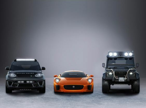 JAGUAR LAND ROVER ANNOUNCE PARTNERSHIP WITH SPECTRE, THE 24TH JAMES BOND ADVENTURE