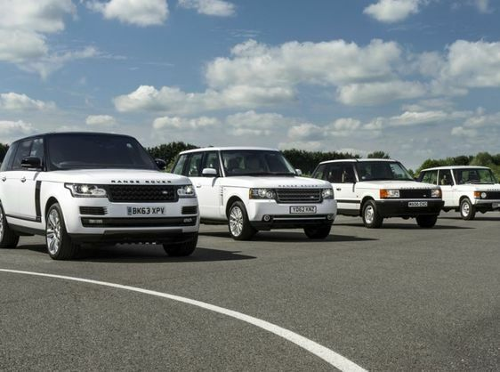 RANGE ROVER CELEBRATES 45 YEARS OF LUXURY, DESIGN AND INNOVATION.