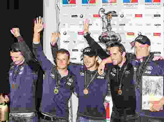 LAND ROVER BAR ANNOUNCED WINNERS AT FIRST LOUIS VUITTON AMERICA'S CUP WORLD SERIES OF 2015.