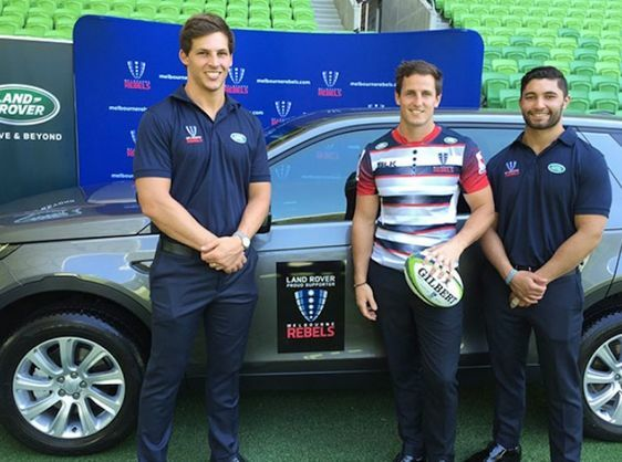 LAND ROVER AND THE MELBOURNE REBELS ANNOUNCE PARTNERSHIP FOR 2016 SUPER RUGBY SEASON