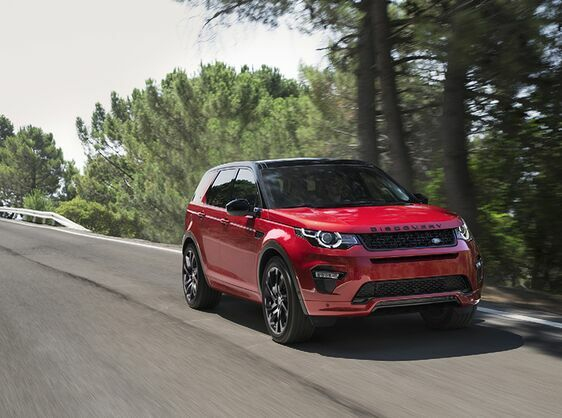 New Dynamic Design And Efficiency Boost For Land Rover Discovery Sport
