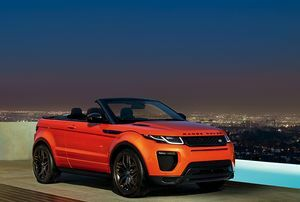 Range Rover Evoque Convertible – A Convertible for All Seasons