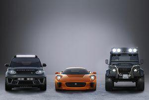 Jaguar Land Rover Announce Partnership With Spectre, the 24th James Bond Adventure
