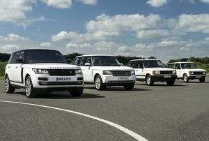 Range Rover Celebrates 45 Years Of Luxury, Design And Innovation