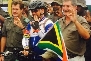 Wayne Bolton covers 6 000km on his One Land Love It cycling expedition.