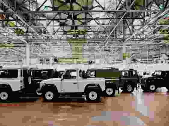 CELEBRATING THE LEGEND: LAST OF CURRENT LAND ROVER DEFENDERS BUILT IN SOLIHULL