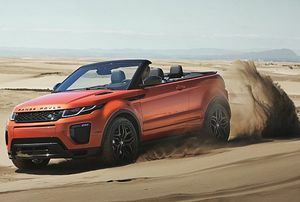 Range Rover Evoque Convertible – Let the Outside In