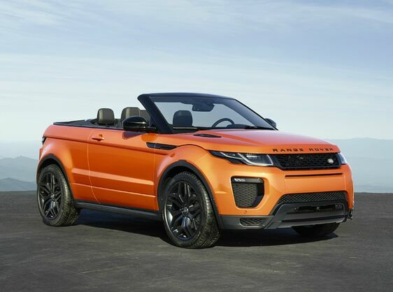 Range Rover Evoque Convertible  2.0 TD4 HSE Dynamic 2 Door Automatic PCP Representative Example