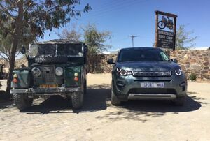 Uis Land Rover Festival in Namibia