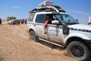 Land Rover and The Kingsley Holgate Foundation - Hope Crosses Any Terrain