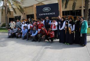 Children with Special Needs Enjoy LRE Sessions as Part of Euro Motors Jaguar Land Rover's National Day Celebrations