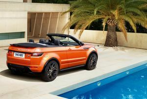 RANGE ROVER EVOQUE CONVERTIBLE Debut