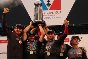 ランドローバーBAR アメリカズカップ・ワールドシリーズ総合優勝