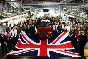 """""""იაგუარ ლენდ როვერი"""" კვლავ ბრიტანეთის უდიდესი ავტომწარმოებელია"""