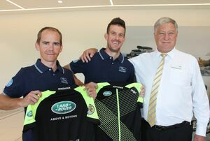Land Rover Windhoek sponsors Namibian Cape Epic Duo