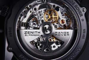 Range Rover and Zenith Watches have come together in a collaboration to create a timepiece that sets a new bar in luxury.