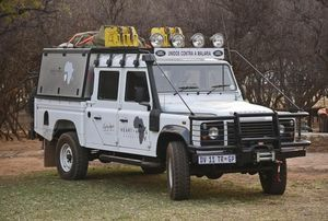 OWN A PIECE OF AFRICAN HISTORY: KINGSLEY HOLGATE'S LAST LAND ROVER DEFENDER AUCTION.